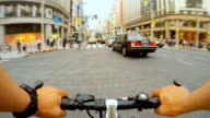 Cycling in Ginza, Tokyo video