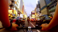 Cycling in Ginza, Tokyo-4K- video