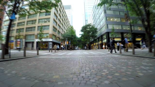 Cycling in Marunouchi, Tokyo video