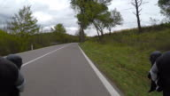Cycling in Tuscany. Point of view video video