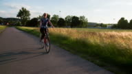 Cycling on Country Road video
