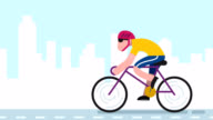 Cycling Road video