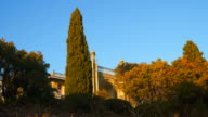Cypresses in front of the Vorontsov Palace video