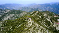 Cyprus. Cedar Valley. The church, a monastery in the mountains. tourist Attractions video