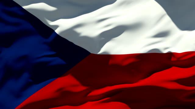 Czech Flag video