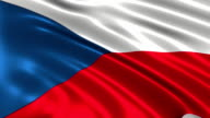 Czech Republic charming flag video