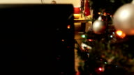 JIB: Dad asleep at Christmas video