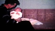 Dad Picking Up His Baby Boy (1962 - Vintage 8mm) video