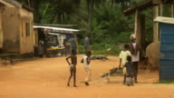 Daily Street Scene, Rural Africa. video