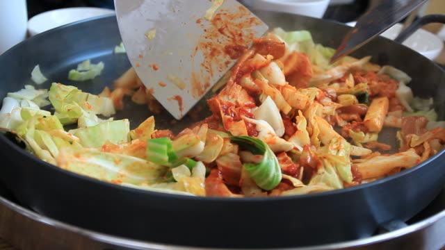 Dakgalbi, Korean Food video