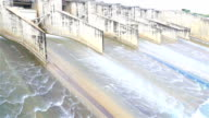 HD: Dam floodgates video