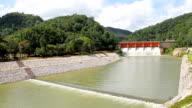 Dam in mountain video