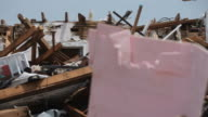 Damage from Tornado to Homes video