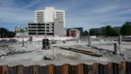 Damaged building Christchurch New Zealand video