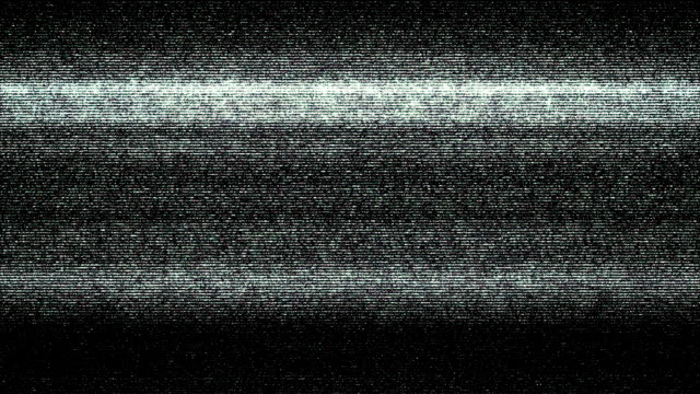 Damaged TV Static Distortion Background Loop video