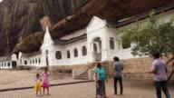Dambulla Cave Temple video