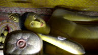 Dambulla royal cave temple in Sri Lanka video