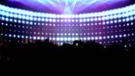 Dance Crowd going wild. HD video