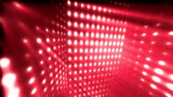 Dance Party Rays Red Loopable Background video