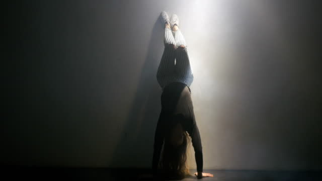 Dancer in a Handstand video