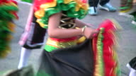 HD: Dancing at a carnival video