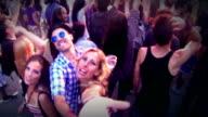 Dancing at concert. video