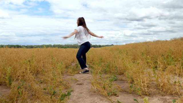 Dancing by the Golden Grass video