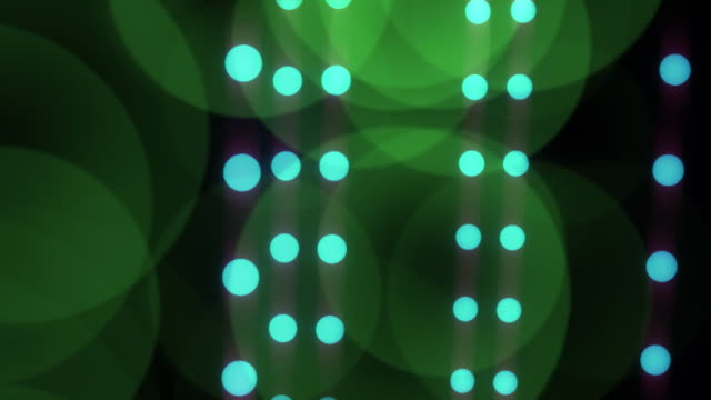 Dancing Dots, Looping HD Background video