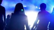 dancing girl in a night club video