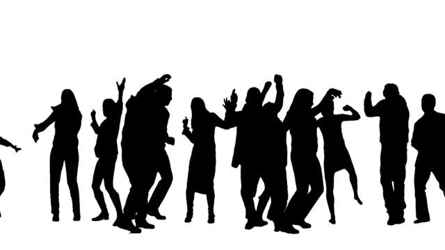 Dancing people video