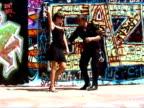 Dancing Salsa in Berlin city center video