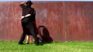 Dancing salsa video