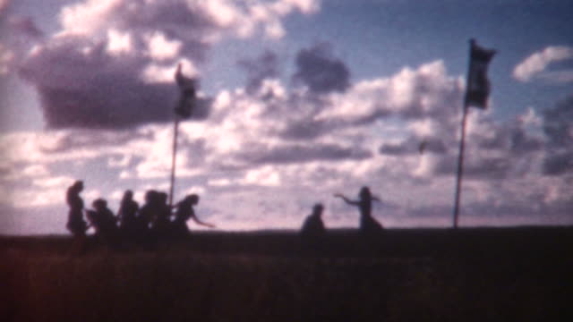 Dancing Silhouettes 1962 video