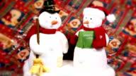 Dancing Snowman HD video