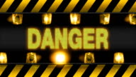 Danger Industrial Wall Barricade video