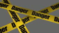 Danger Warning Sign + Alpha included video