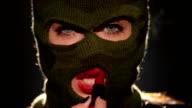 Dangerous and beautiful criminal girl video
