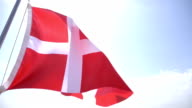 Danish Flag video