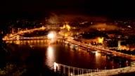 Danube fireworks video