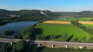 Danube Valley And Walhalla Memorial Near Regensburg video