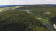 Danube Valley And Weltenburg Abbey In Bavaria video