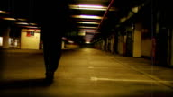 Dark and foreboding - crime scene video