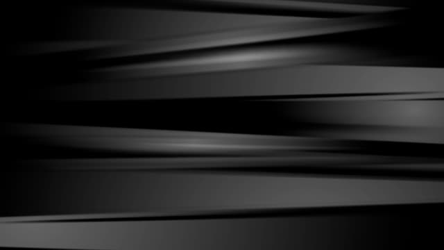 Dark black abstract striped video animation video