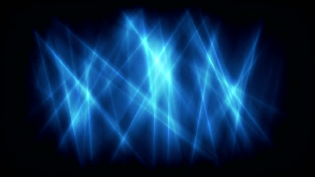 Dark blue abstract glowing stripes video animation video
