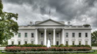 Dark clouds over the White House video
