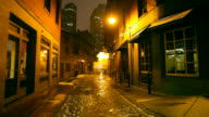 Dark Cold Urban Street video