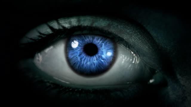 Dark Eye. Multicolored and Blue. Dark gray skin. Loopable. video