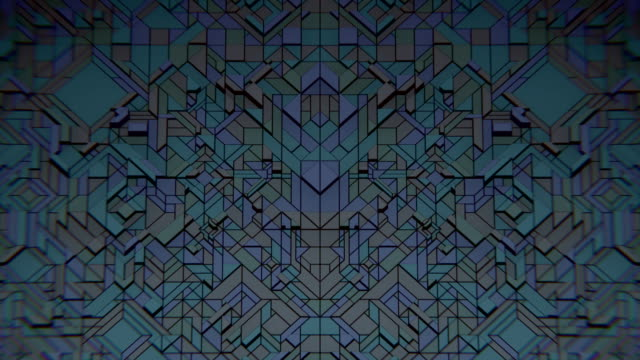 VJ Dark Geometrics video