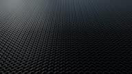 Dark metallic chain armor pattern background loop video