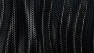 Dark metallic chain armor wave background loop video